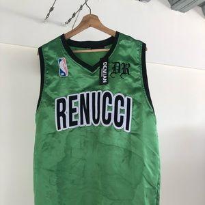renucci Tops - RENUCCI green jersey